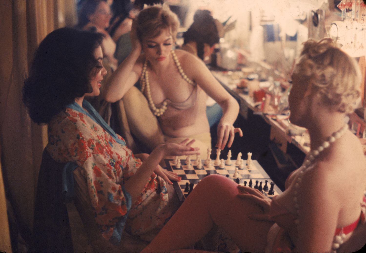 Showgirls at Work and at Play: Gordon Parks' Nightclub Portraits