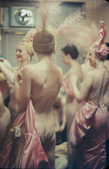 Showgirls, New York, 1958.