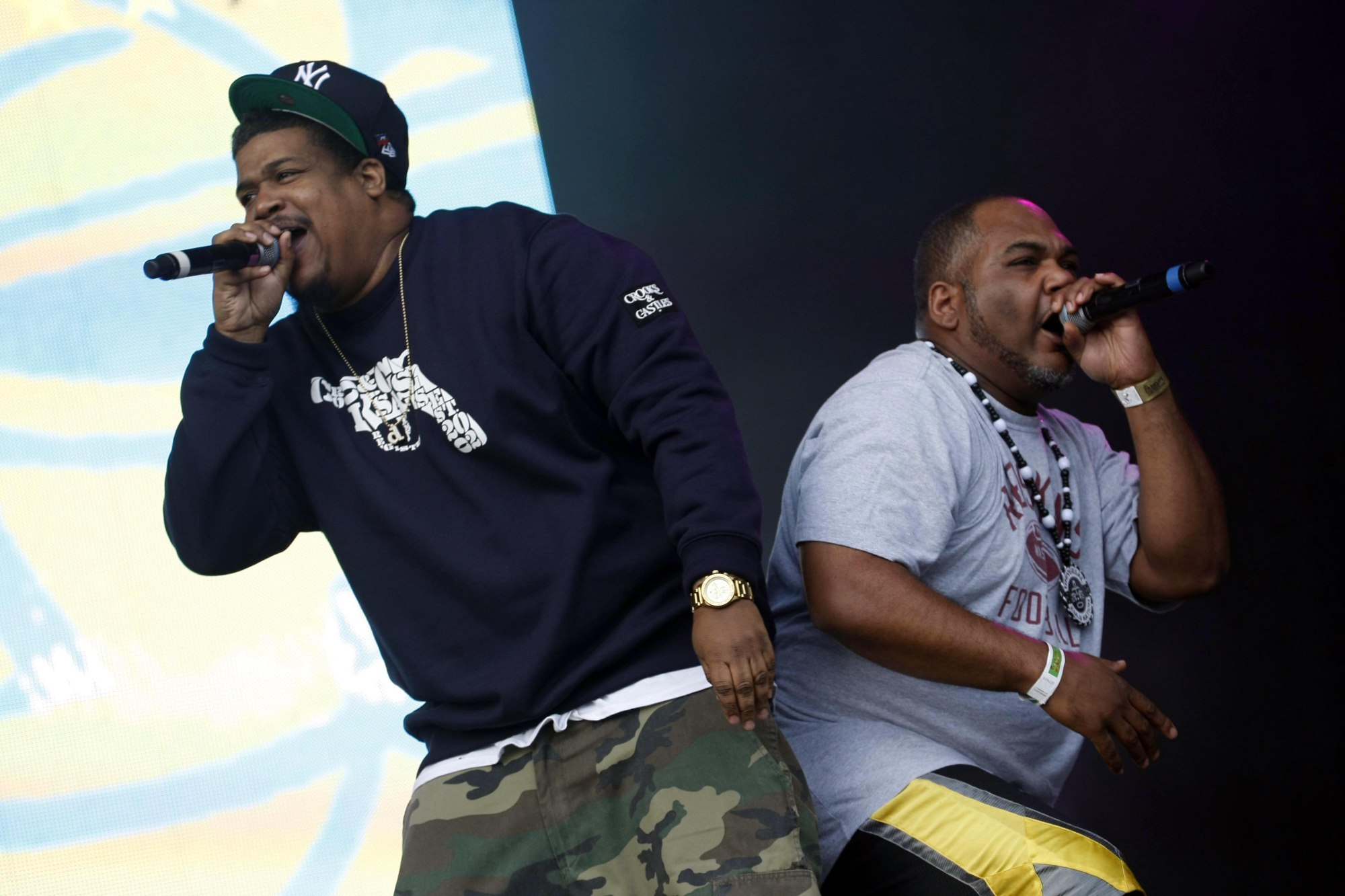 De La Soul performs at Parklife festival at Platt Fields Park on June 10, 2012 in Manchester, England.