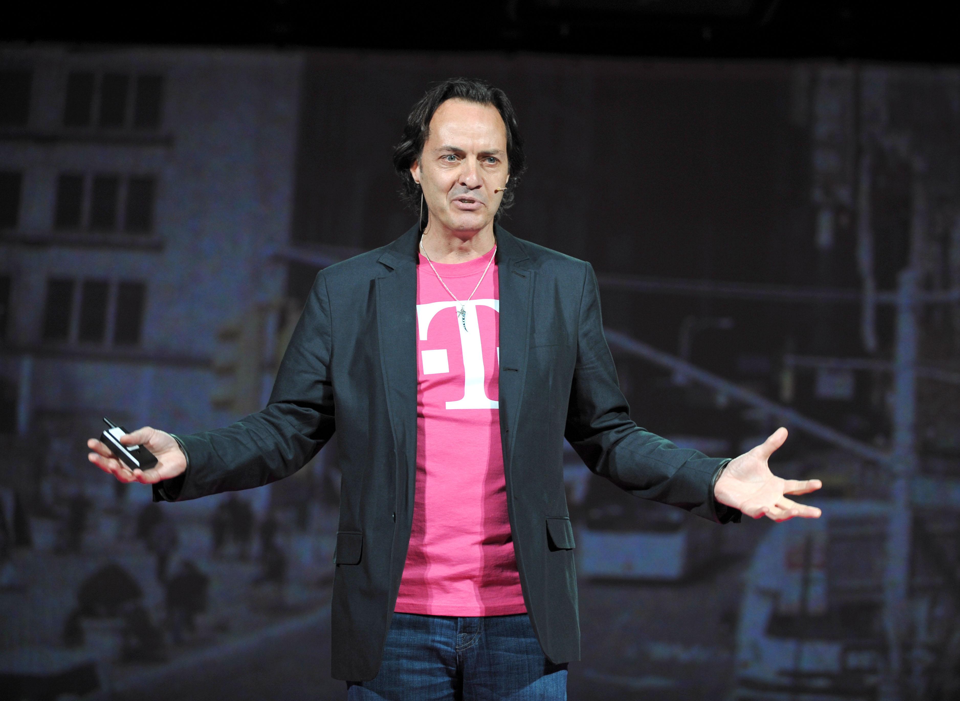 T-Mobile C.E.O. John Legere