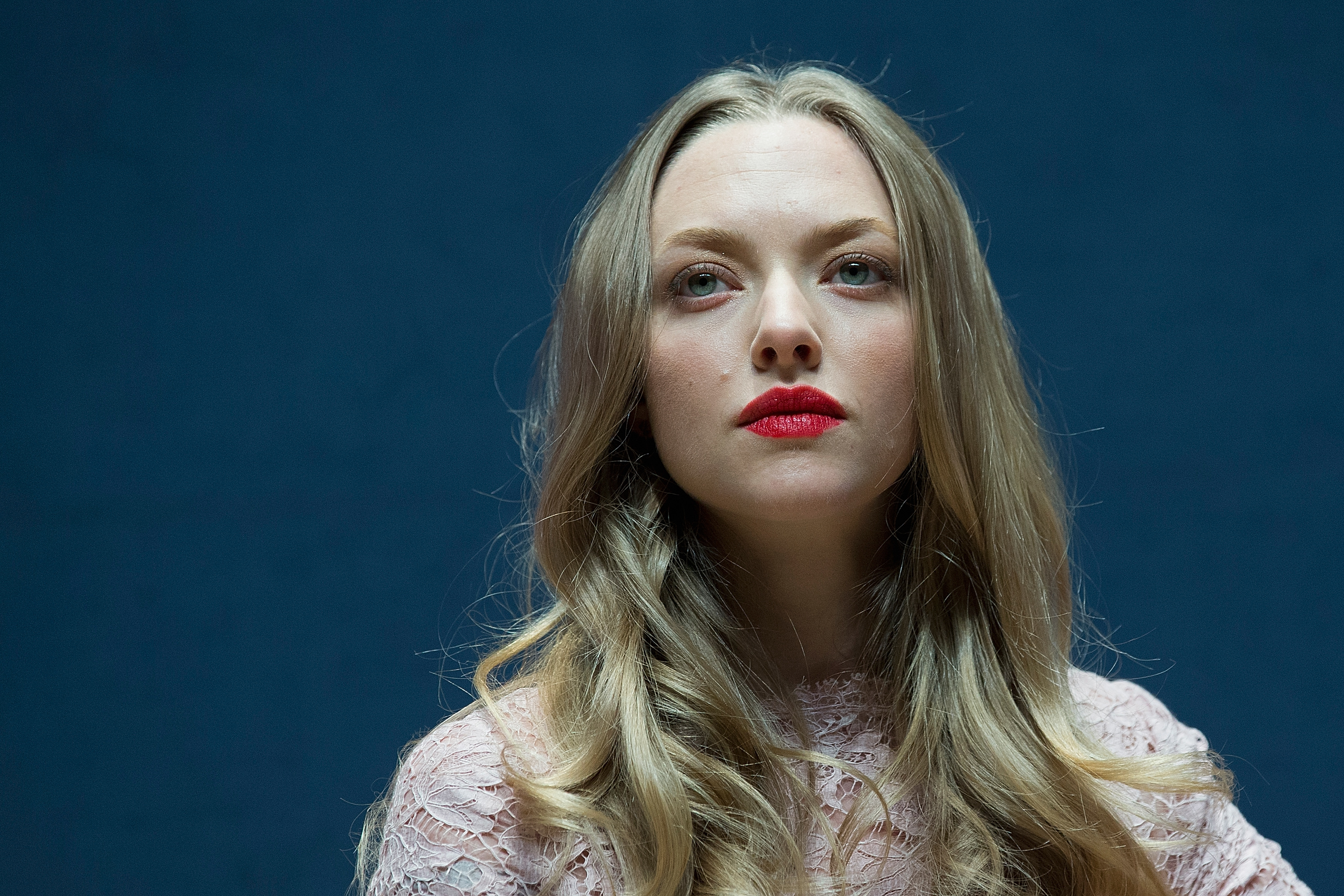 Amanda Seyfried attends the press conference at RAUM on December 4, 2013 in Seoul, South Korea.