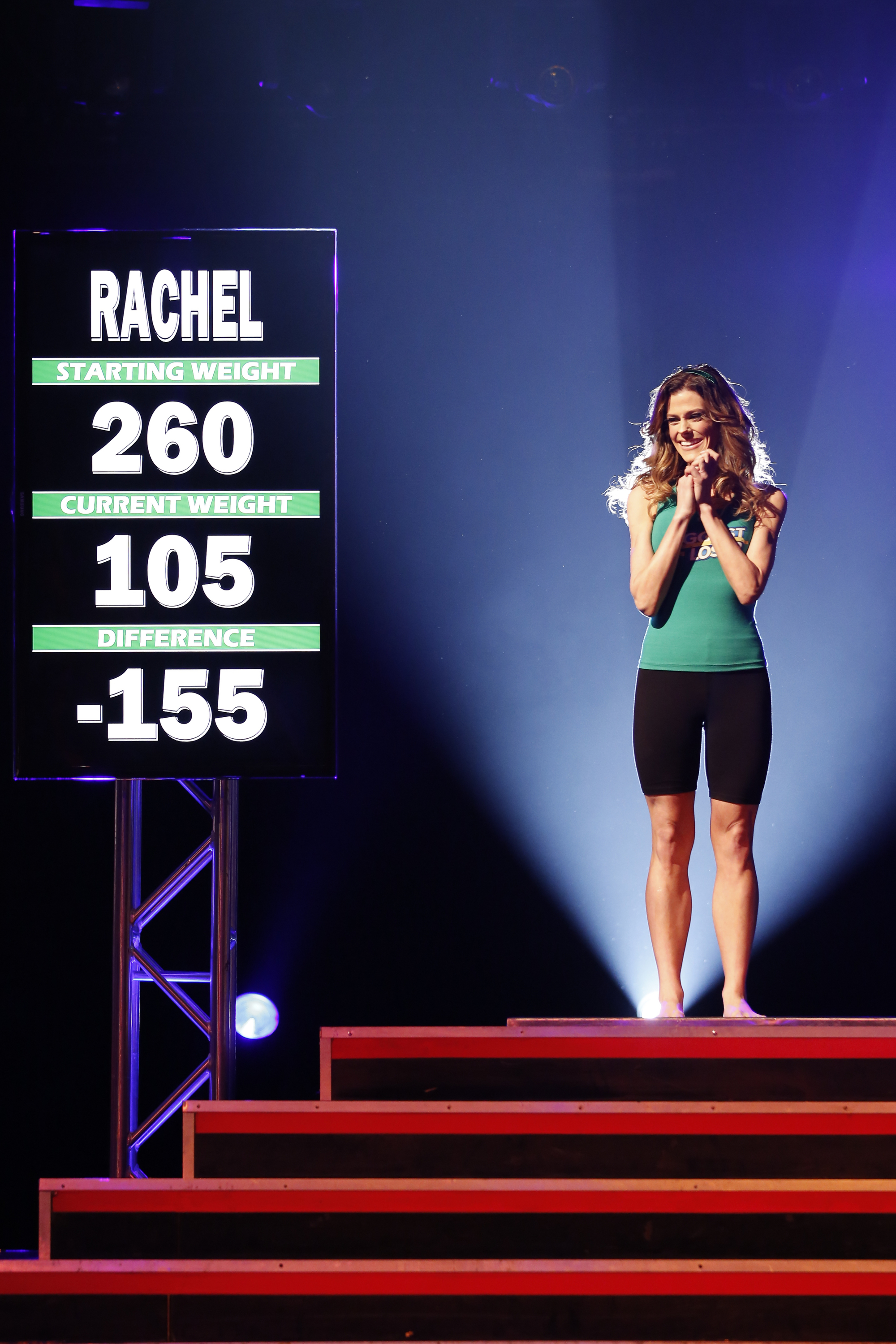 Rachel Frederickson in the Season 15 finale of 'The Biggest Loser'