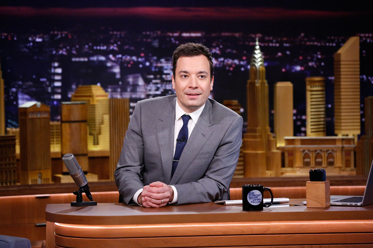 Tonight Show host Jimmy Fallon on Feb. 17, 2014