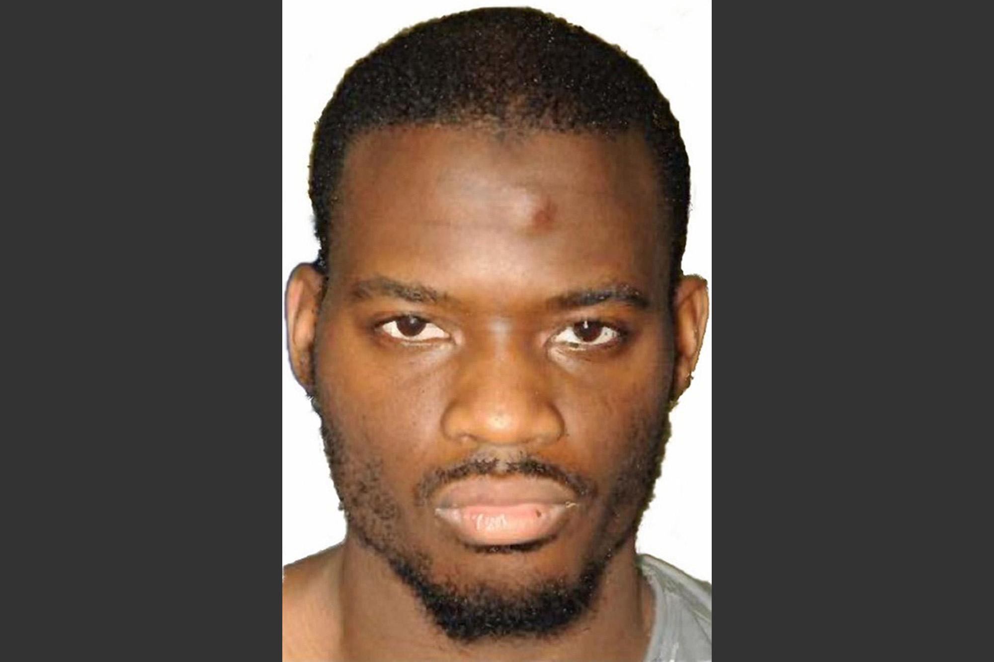 This undated file image released by the Metropolitan Police on Dec. 19, 2013 shows Michael Adebolajo.