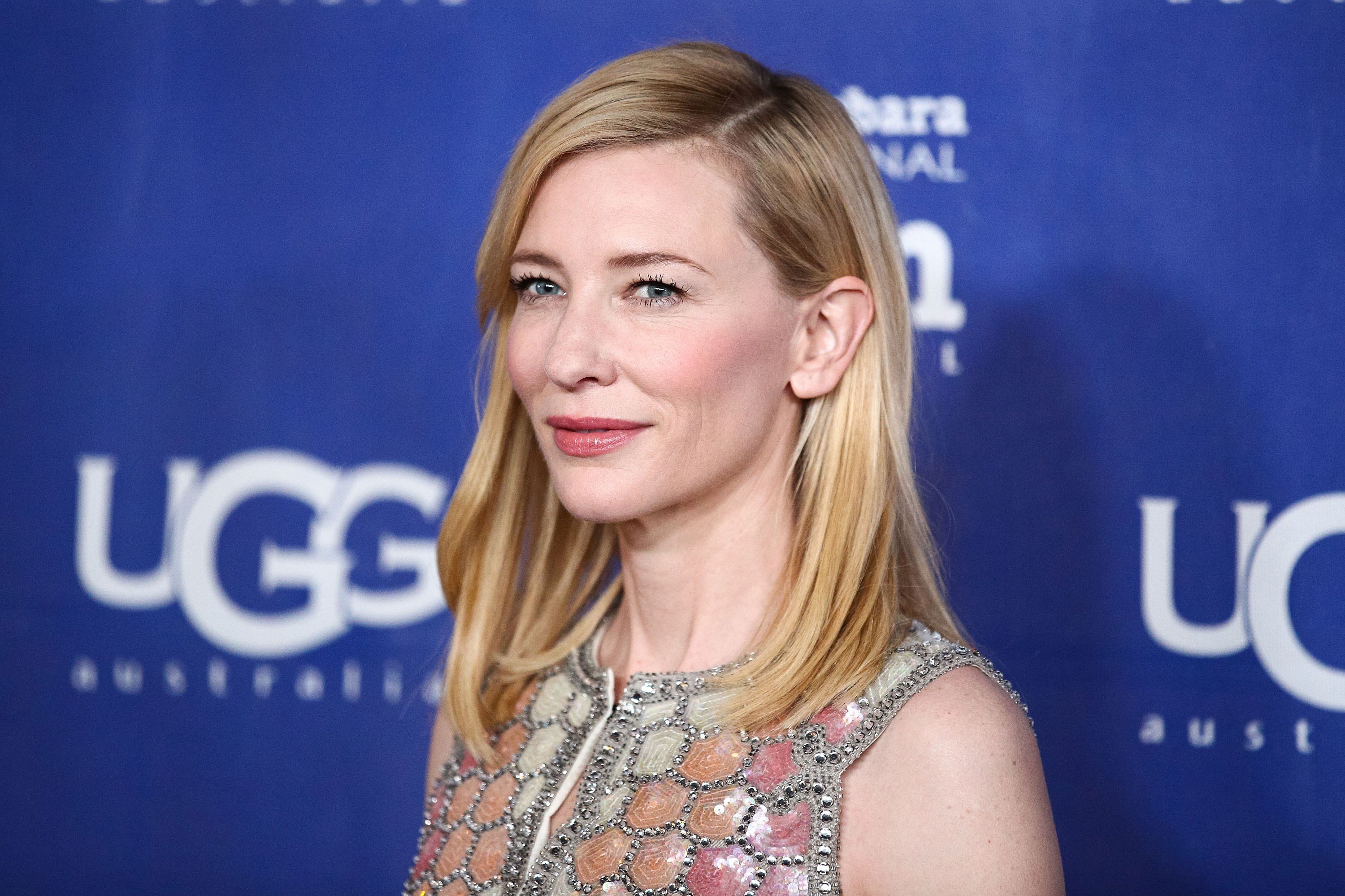 Actress Cate Blanchett attends the presentation of the Outstanding Performer Of The Year Award at the Arlington Theatre during the 29th Santa Barbara International Film Festival on February 1, 2014.