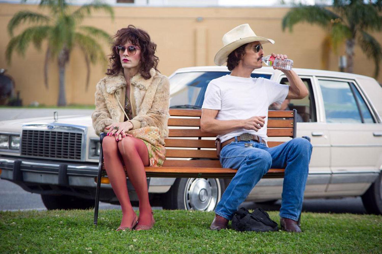 Dallas Buyers Club l-r: Jared Leto, Matthew McConaughey, 2013