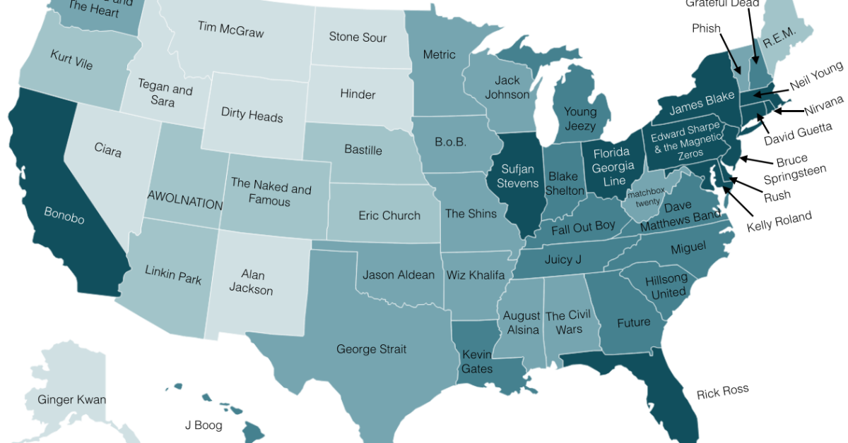 Redneck Map Of Us Funny Maps of America: 12 U.S. Maps You Won't Find in a Textbook