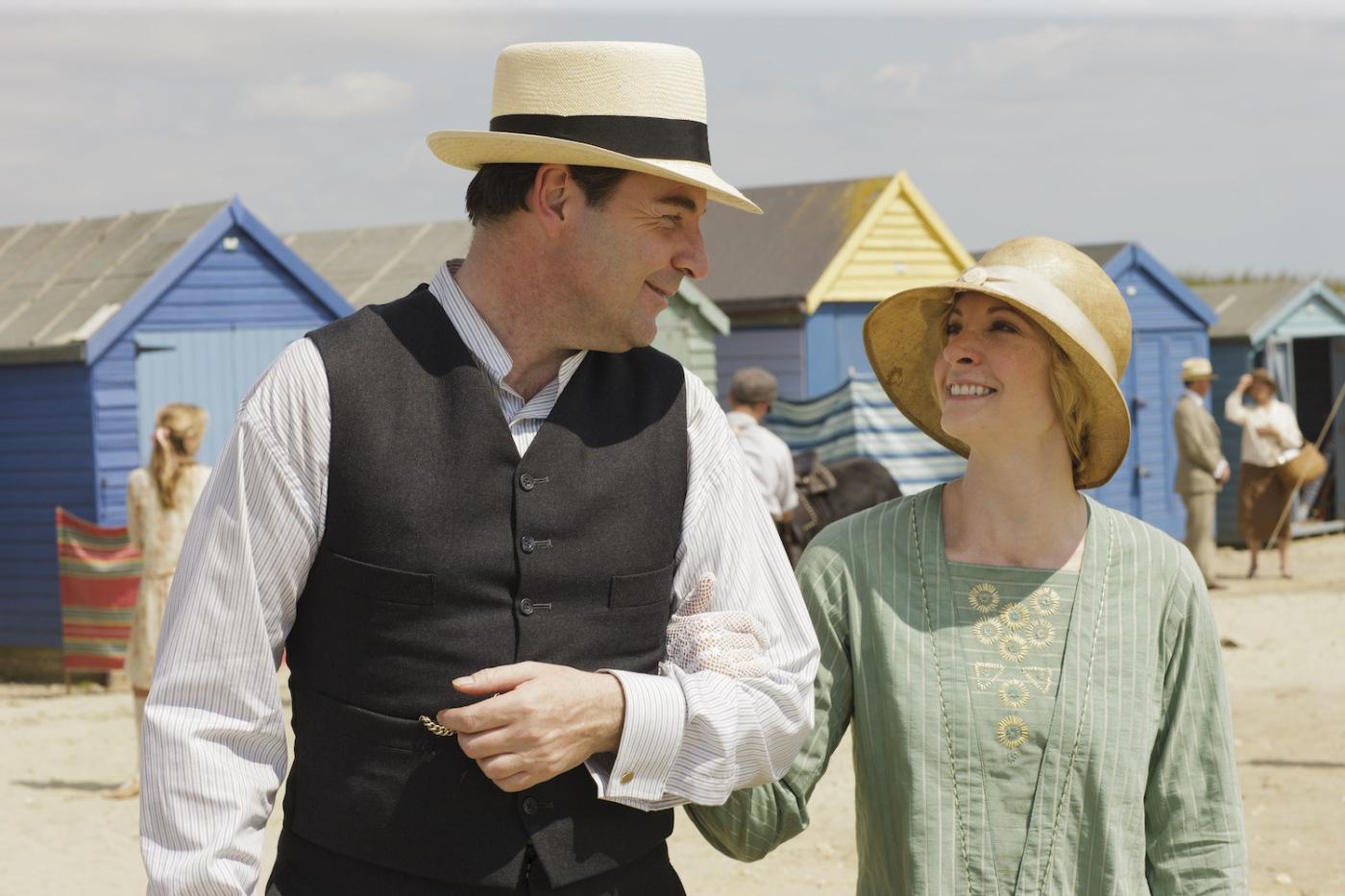 Brendan Coyle as Mr. Bates and Joanne Froggatt as Anna Bates