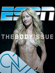 Gretchen Bleiler on the cover of 's 2011 Body Issue