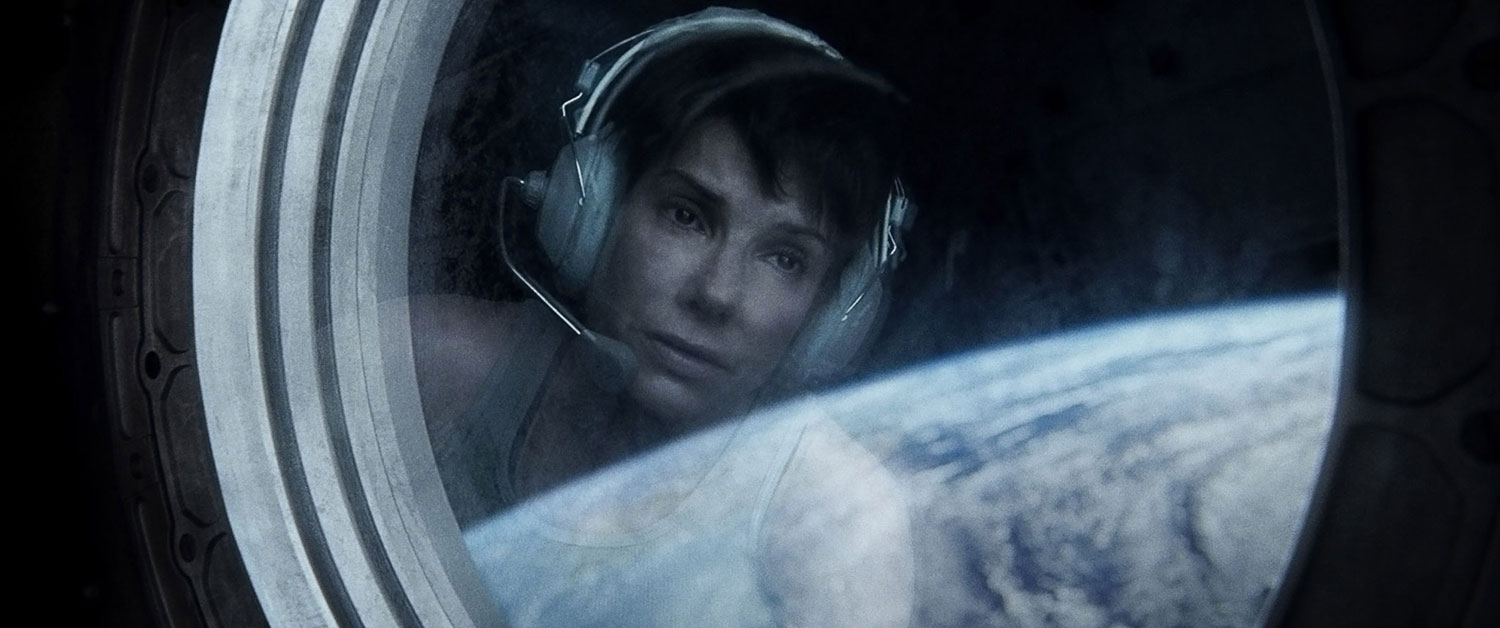 Without Sandra it would be impossible to make that scene work ...like a great ballerina she taught her body to move as if she was in zero gravity and act at the same time,  says Emmanuel Lubezki, director of photography on Gravity.