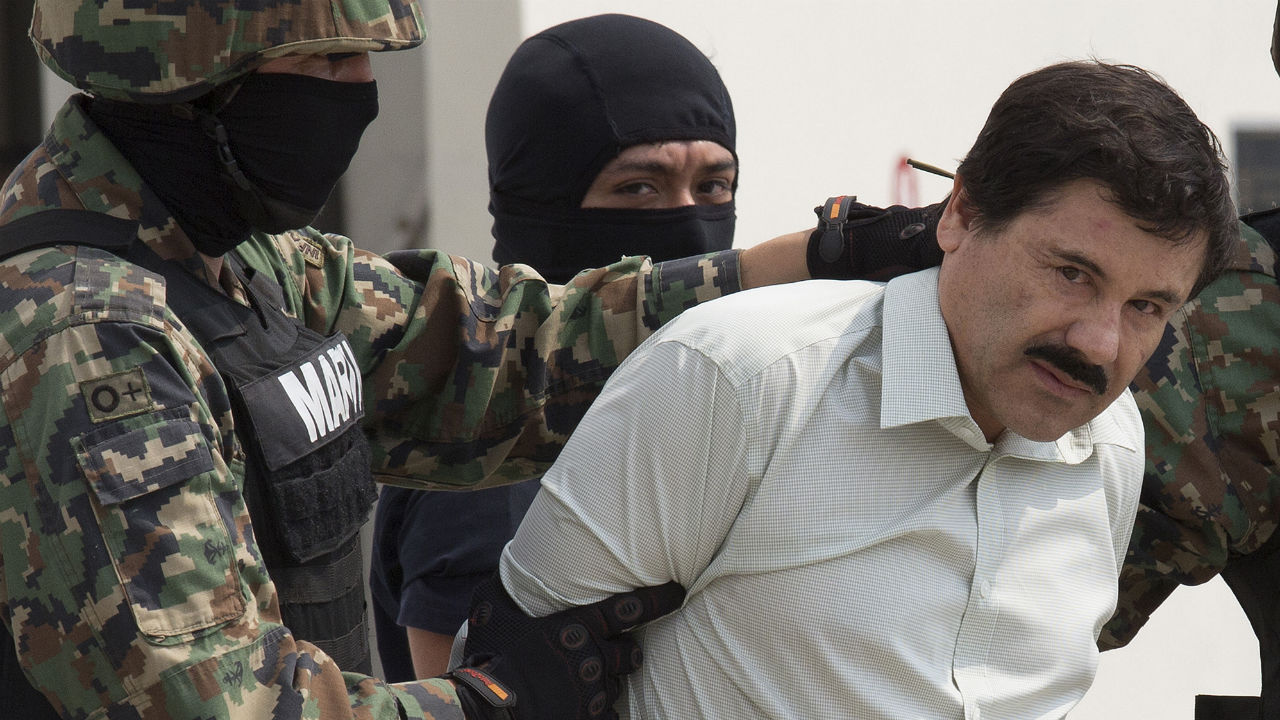 "Dubbed the most powerful drug trafficker in the world and eluding arrest for more than a decade, police finally got the man known as ""El Chapo"" over the weekend. Take a look at how U.S. and Mexican authorities found Joaquin Guzman."