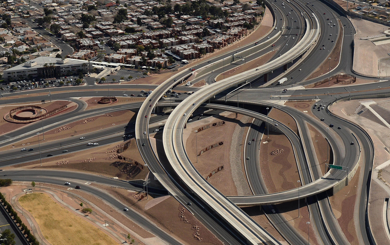 U.S. Route 95 in Las Vegas, Nevada