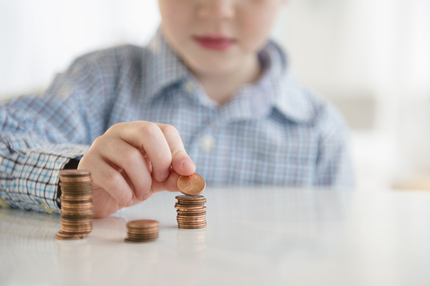 A new study shows children are receiving larger allowances from their parents.