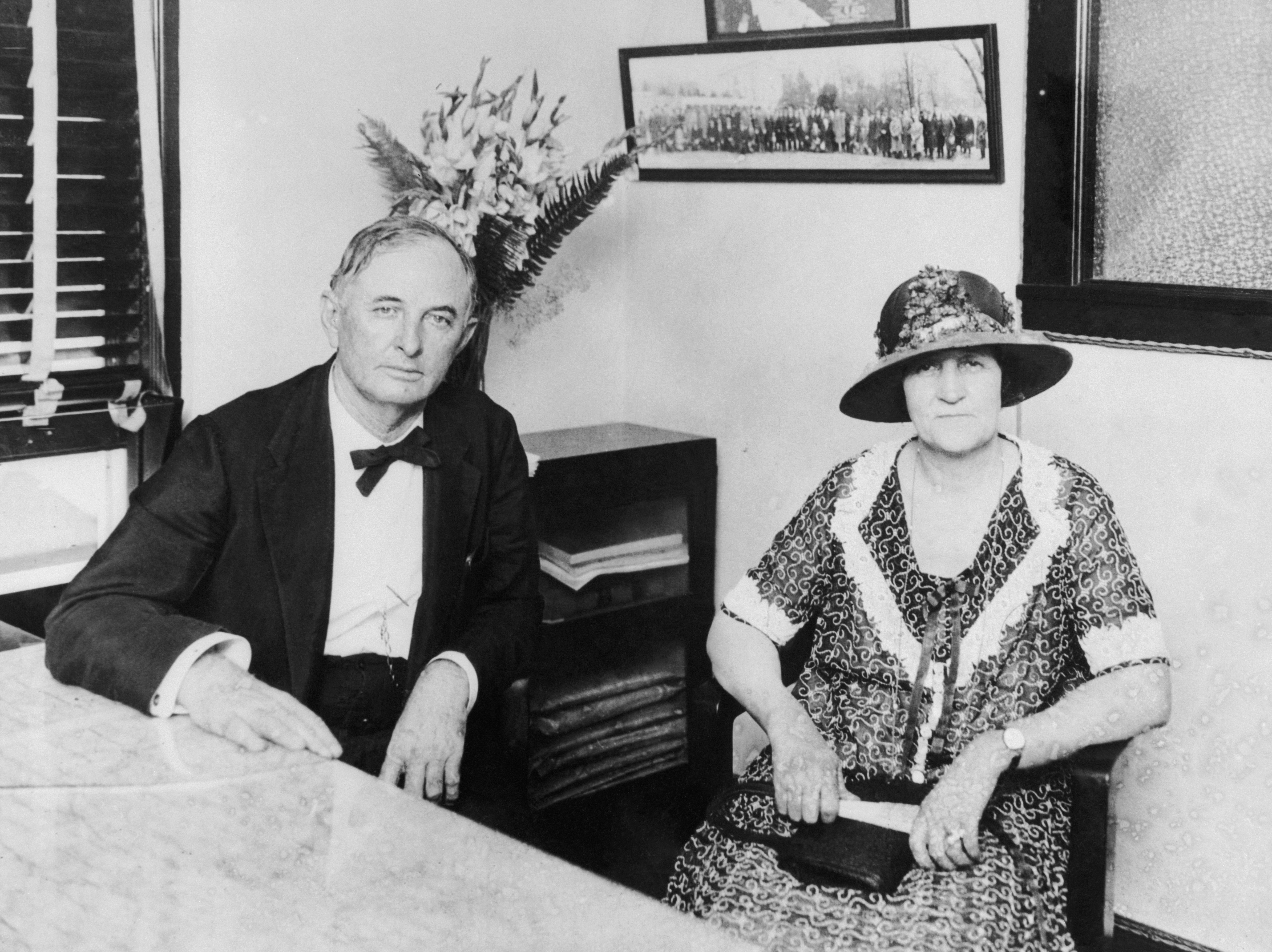 From right: Ma and Pa Ferguson.