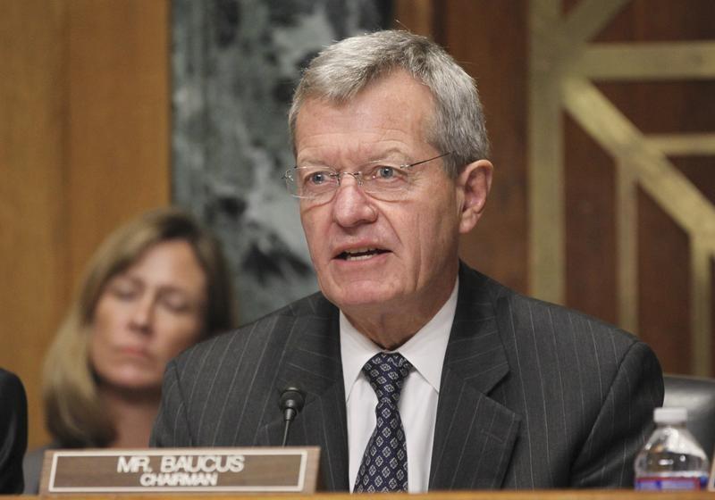 U.S. Senator Max Baucus will be the new U.S. ambassador to China.