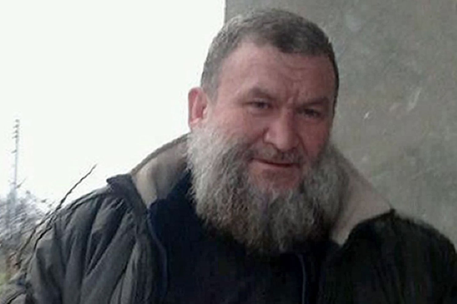 An undated handout picture provided by SITE Intelligence Group on Feb. 23, 2014 allegedly shows Syrian Islamist leader Abu Khalid al-Suri at an undisclosed location in Syria.