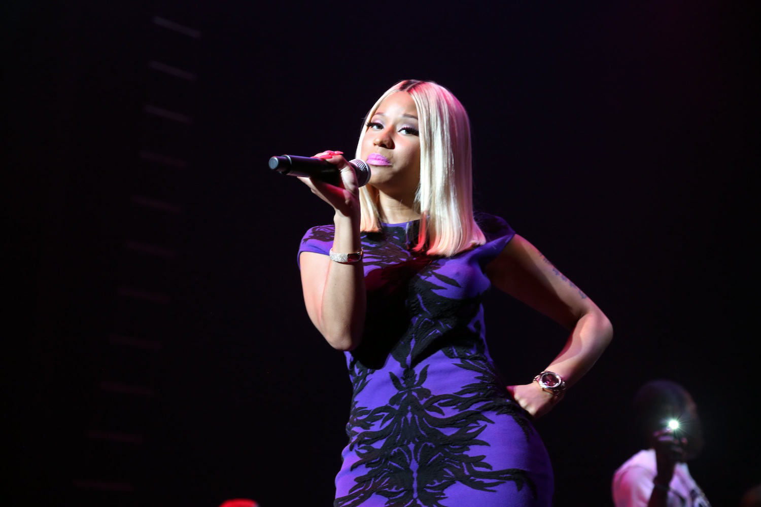 Nicki Minaj on Aug. 30, 2013, in New York City.