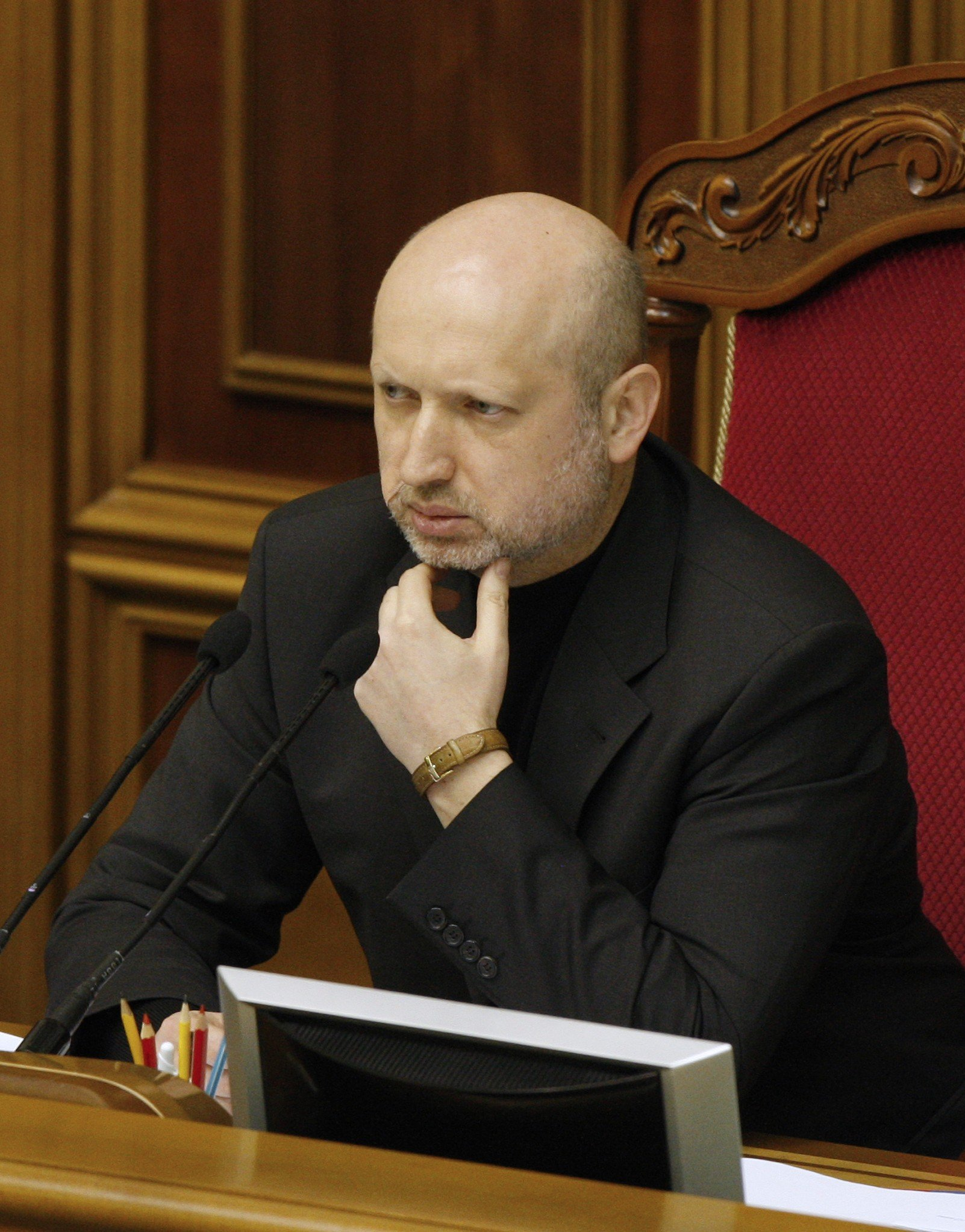 Oleksander Turchinov has been appointed Ukraine's acting president following the ouster of Viktor Yanukovych.
