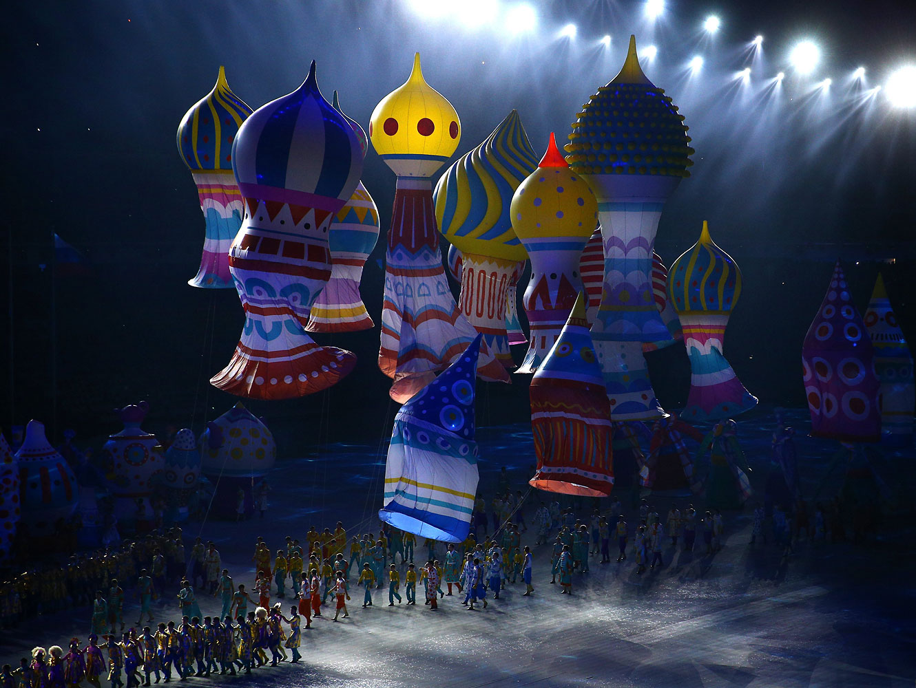 Opening Ceremony of the Sochi 2014 Winter Olympics at Fisht Olympic Stadium on Feb. 7, 2014 in Sochi, Russia.