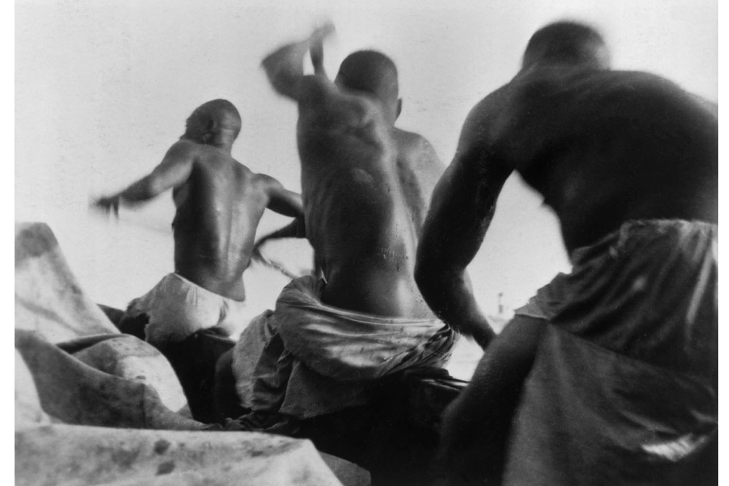 Rowers in the Ivory Coast, 1931