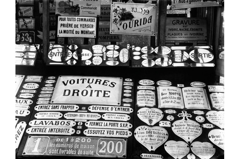 Store window, Rouen, France, 1929.