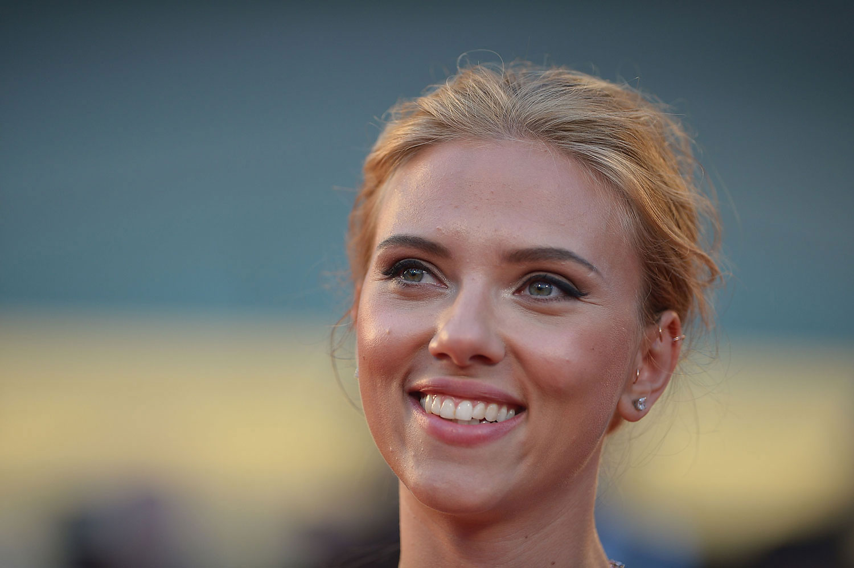 Scarlett Johansson In Venice in September 2013.