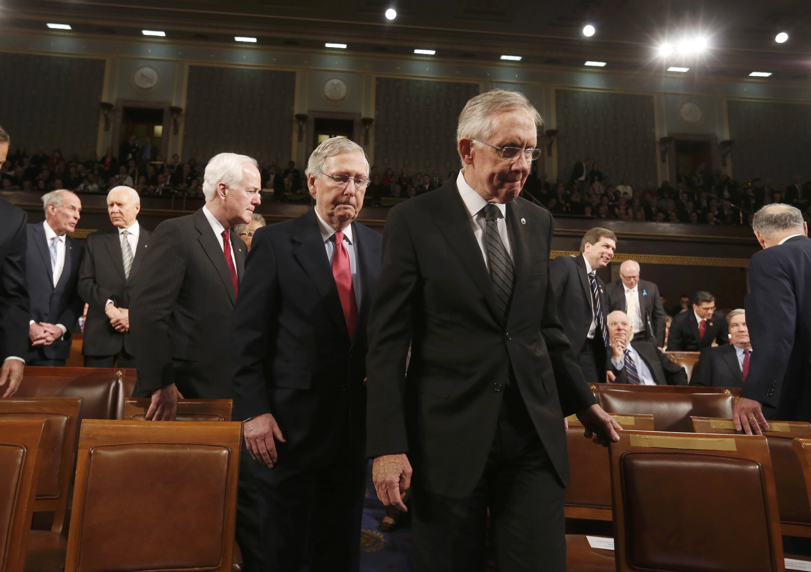 Reid And Mcconnell No Tax Reform In 2014 Time
