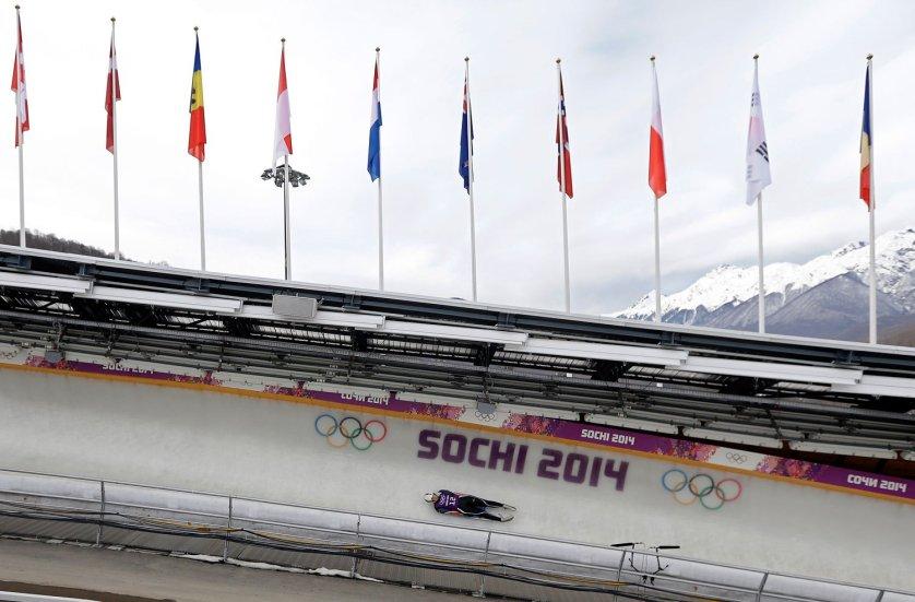 Sochi Olympics Luge Women
