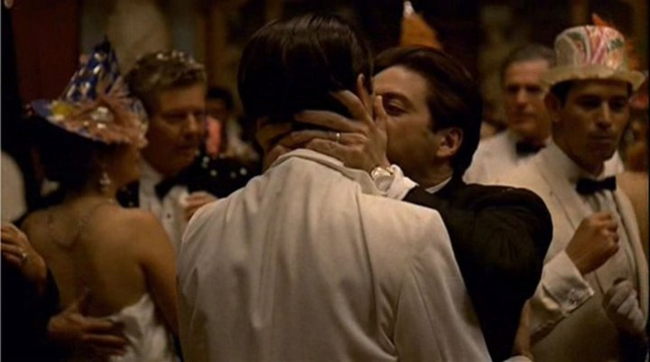 Image result for the godfather kiss of death