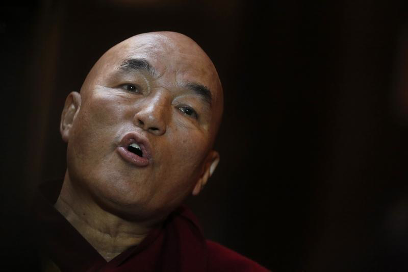 Tibetan monk Thubten Wangchen caused friction between China and Spain by pushing a human-rights complaint through Spanish courts.