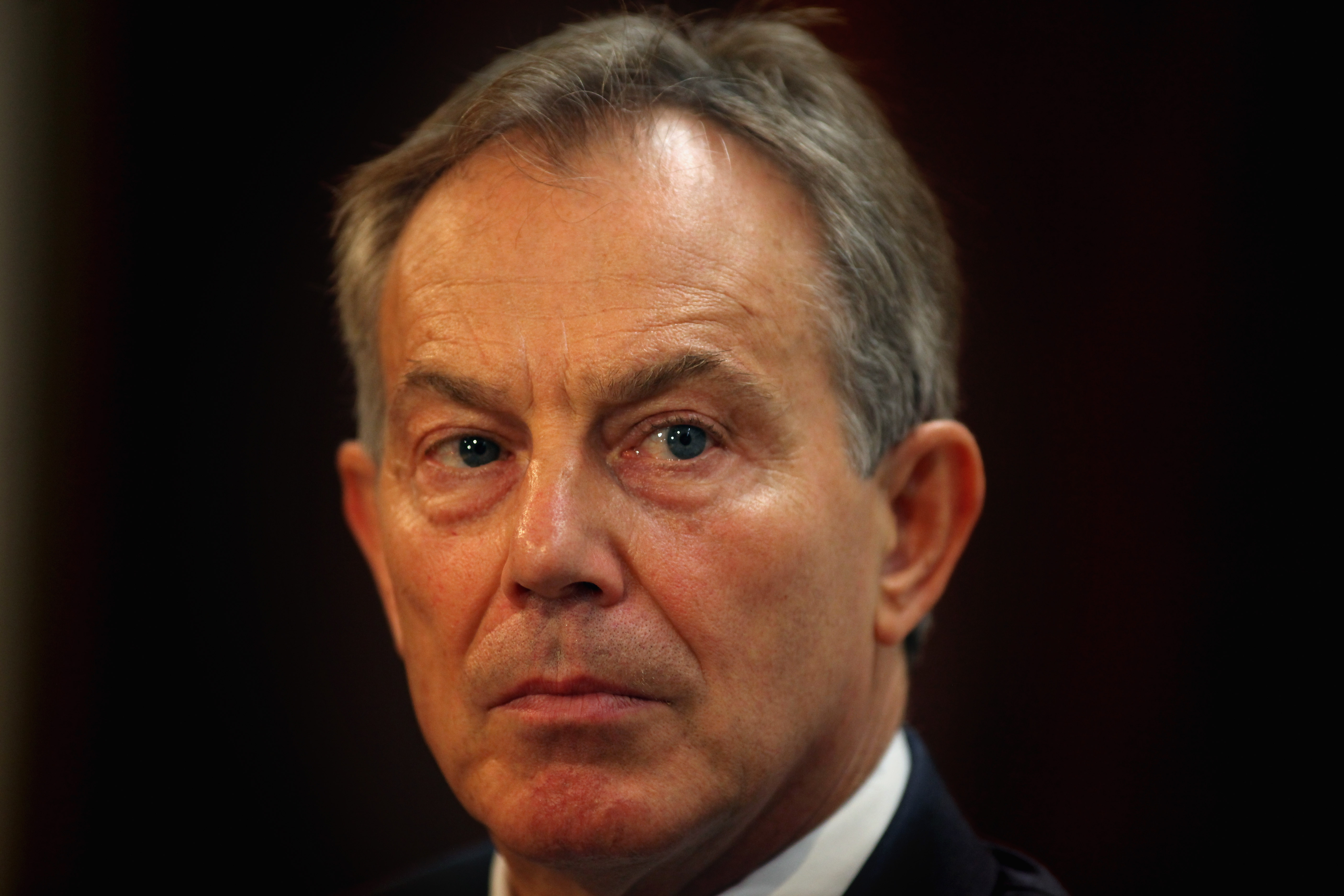 Former Prime Minister Tony Blair in 2011