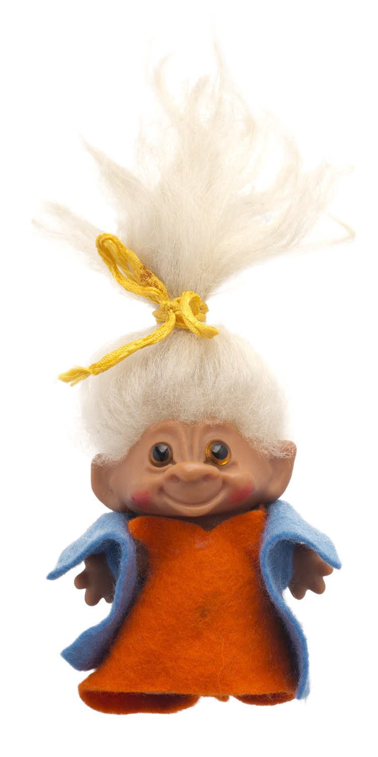 Troll toy from the 1970's