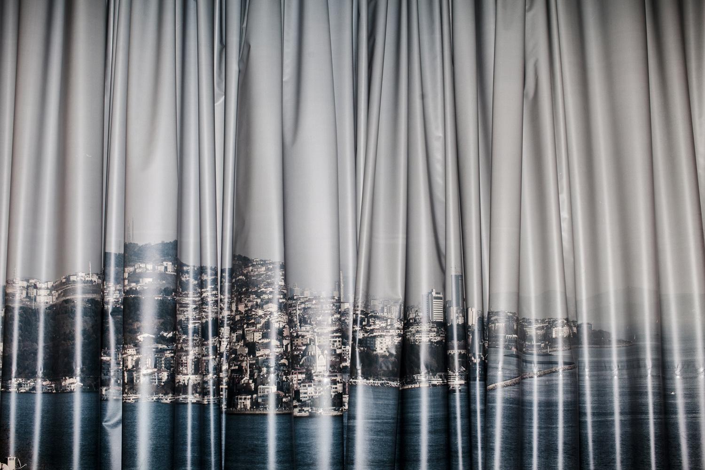 Cityscape backdrop, Istanbul, May 2013.