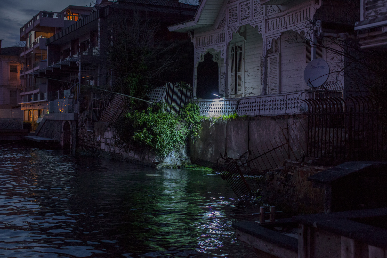 The Kanlicia neighborhood of Istanbul on Asian/Anatolian side of the Bosphorus Sea, March 2013.
