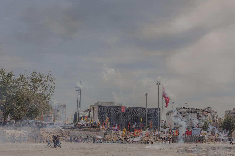 Taksim Square, Istanbul, June 2013.