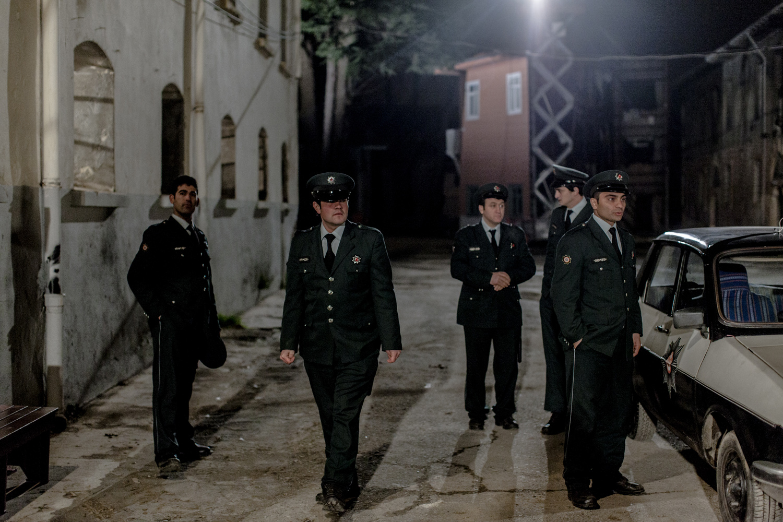 Police prepare for an interrogation, Beykoz, Istanbul, February 2013.