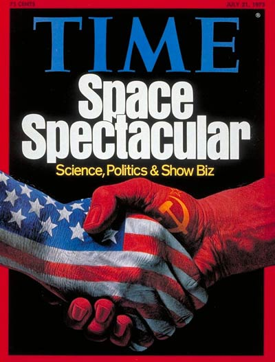 TIME's July 21, 1975 cover celebrated the Apollo-Soyuz space mission