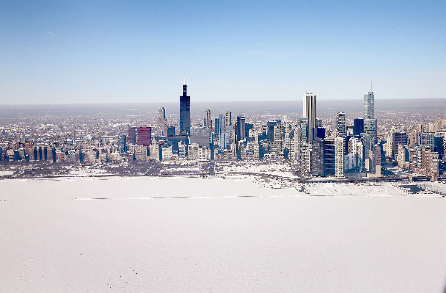 The winter was brutal in Midwestern cities like Chicago