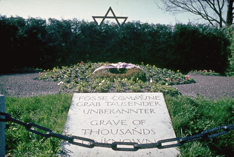 Memorial, Dachau, 1950.