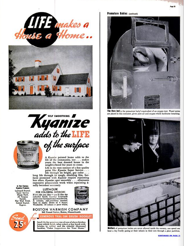 LIFE magazine, March 13, 1939.