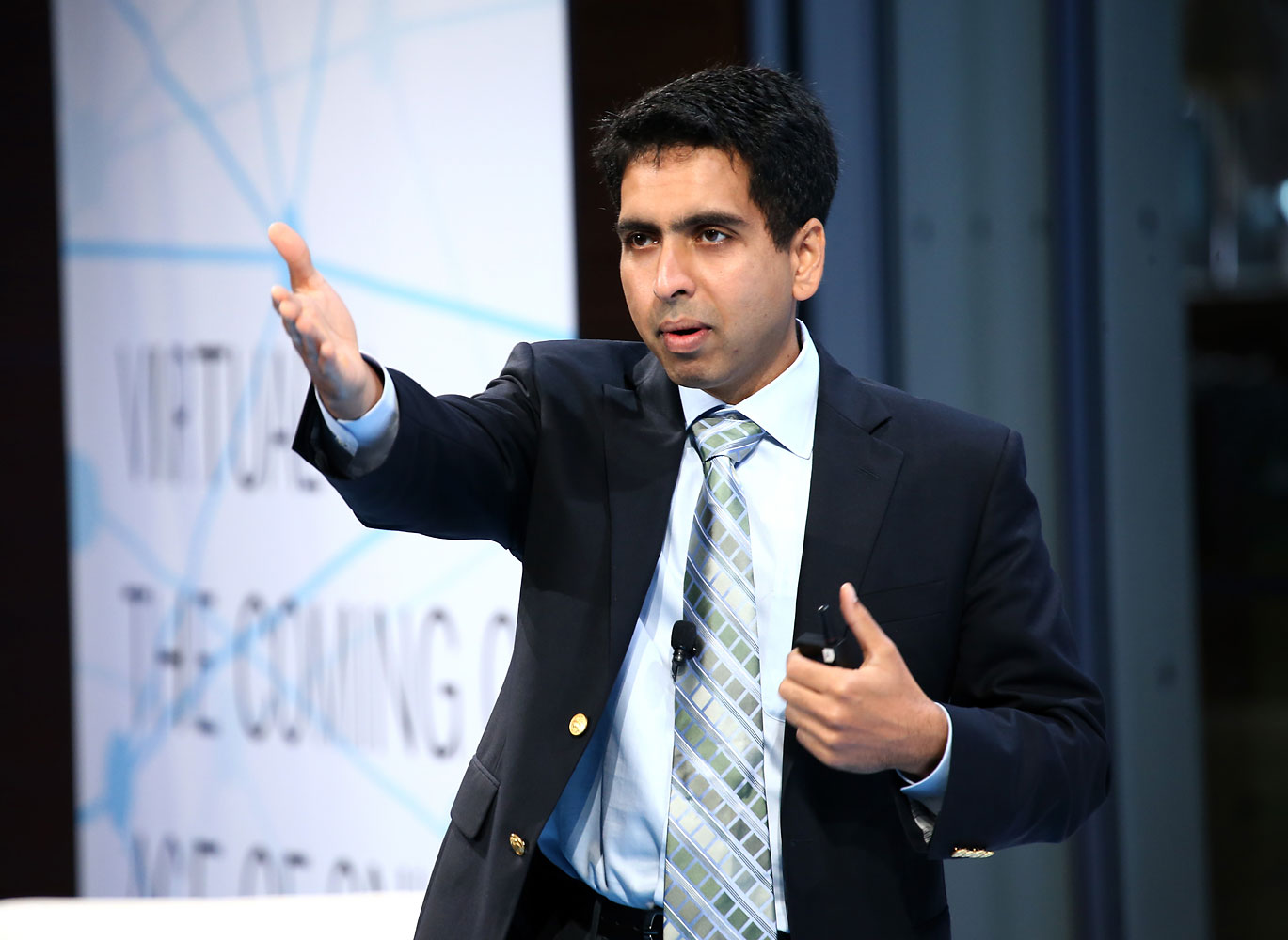 Founder of the Khan Academy Sal Khan, Sept. 17, 2013.