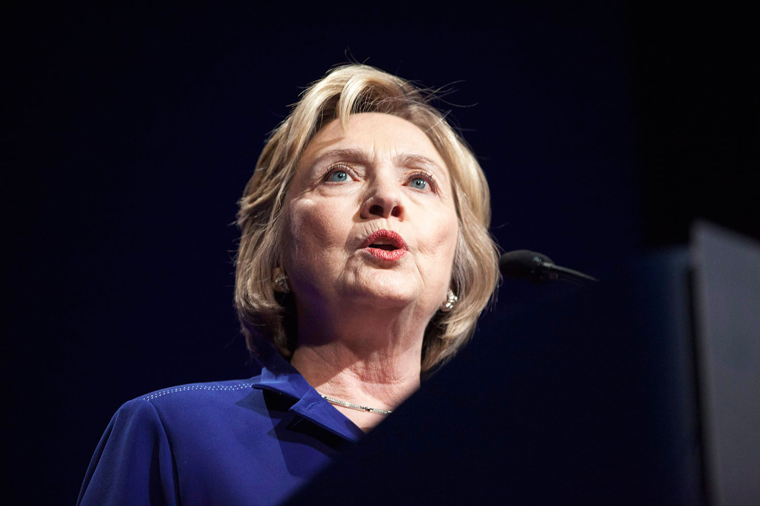 Former Secretary of State Hillary Clinton welcomes more than 1,000 College Students Leaders for the 2014 Meeting of the Clinton Global Initiative University at Arizona State University in Tempe, Arizona, March 21, 2014.