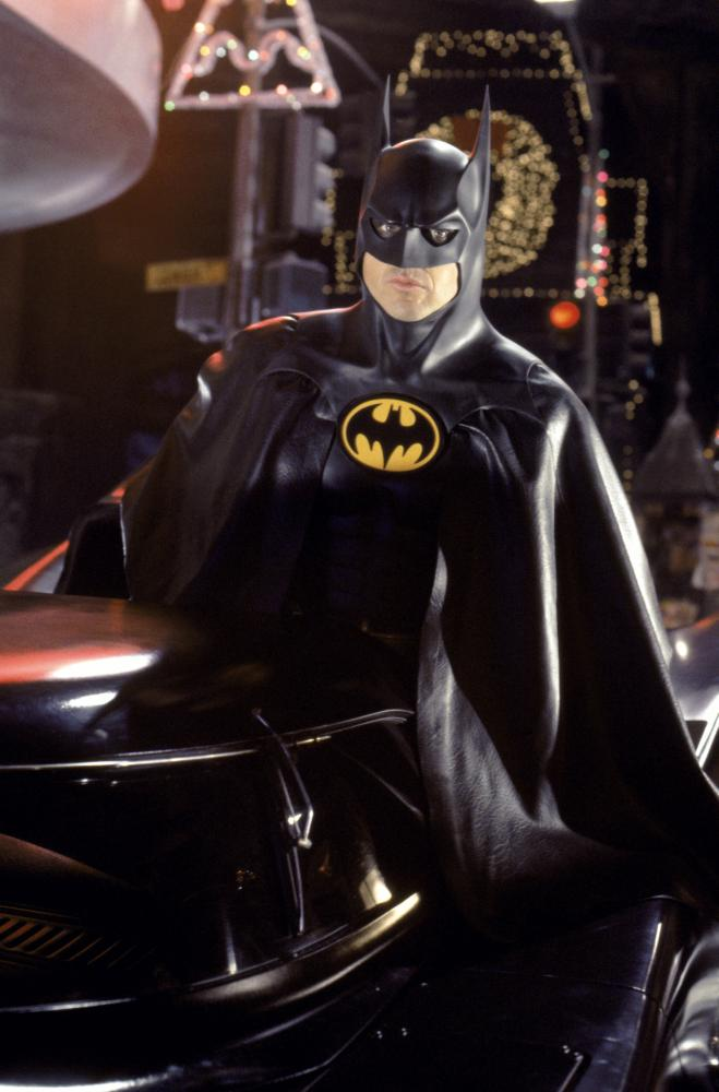 Michael Keaton played Batman in the 1992 film <i>Batman Returns</i>.