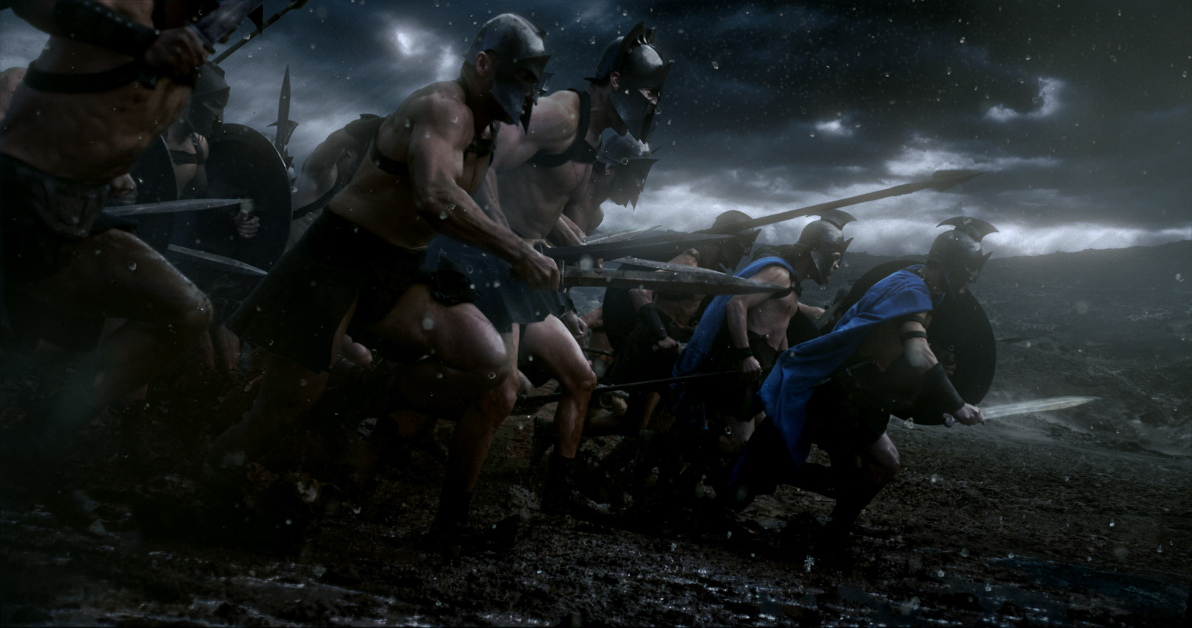 A scene from 300: Rise of an Empire.