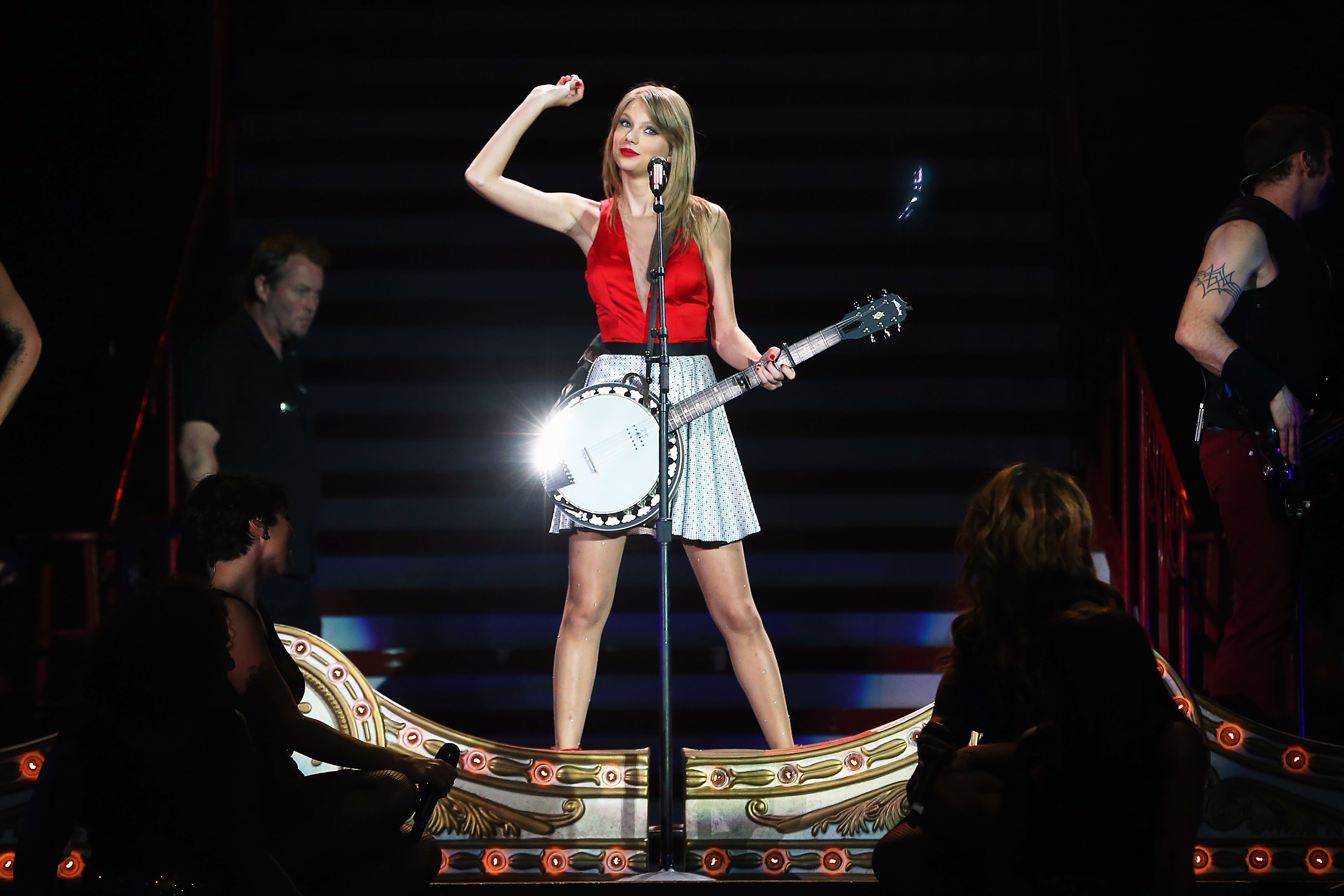 Taylor Swift's RED Tour at Etihad Stadium on December 14, 2013 in Melbourne, Australia
