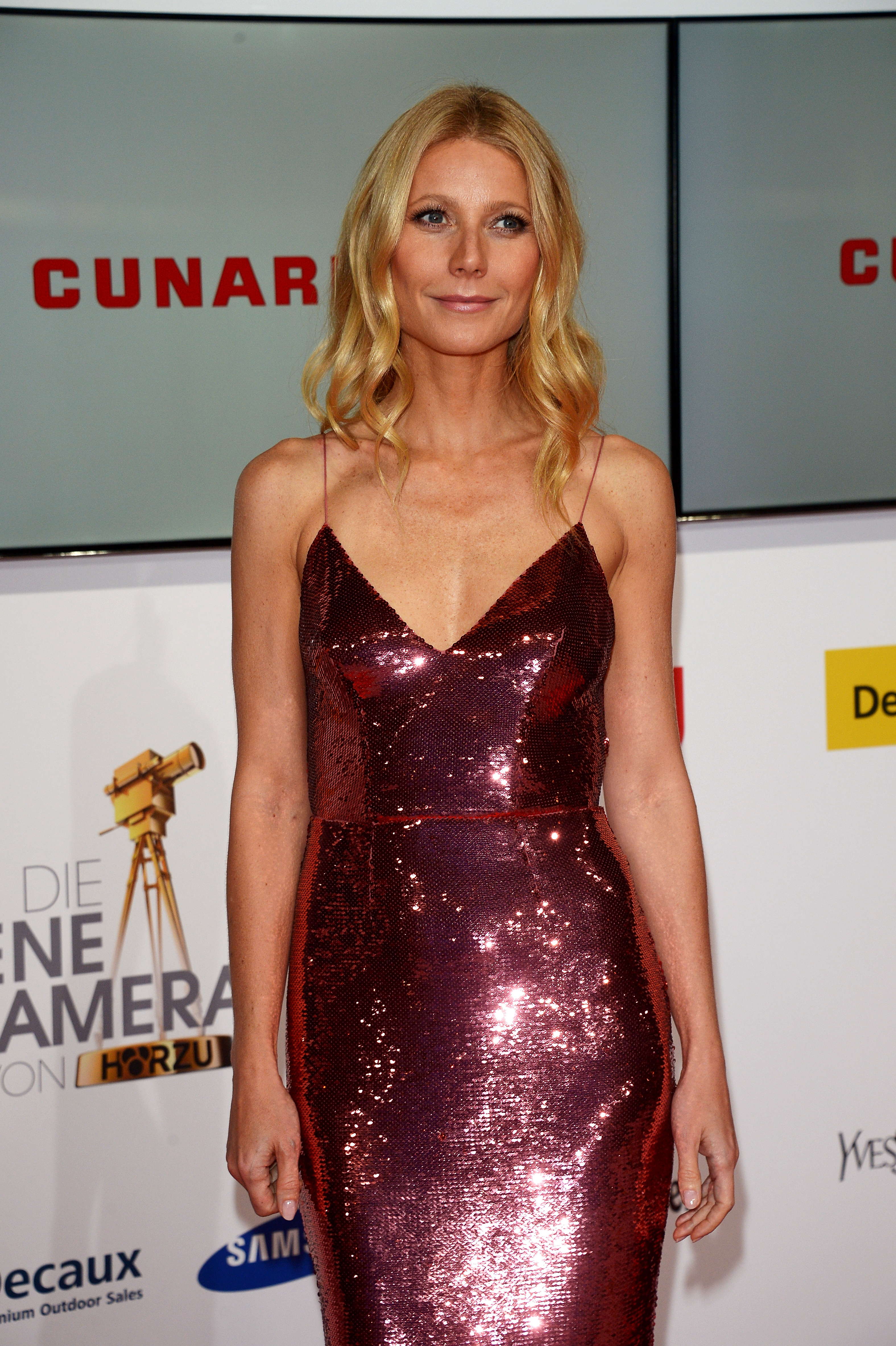 Gwyneth Paltrow attends the 49th Golden Camera Awards at Tempelhof Airport in Berlin on Feb. 1, 2014