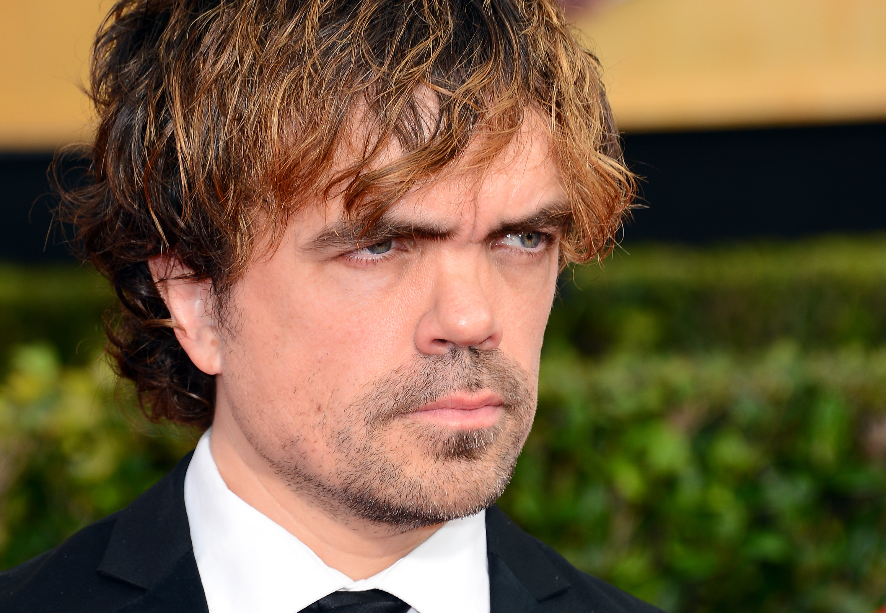 Peter Dinklage attends the 20th Annual Screen Actors Guild Awards at The Shrine Auditorium on January 18, 2014 in Los Angeles, California.