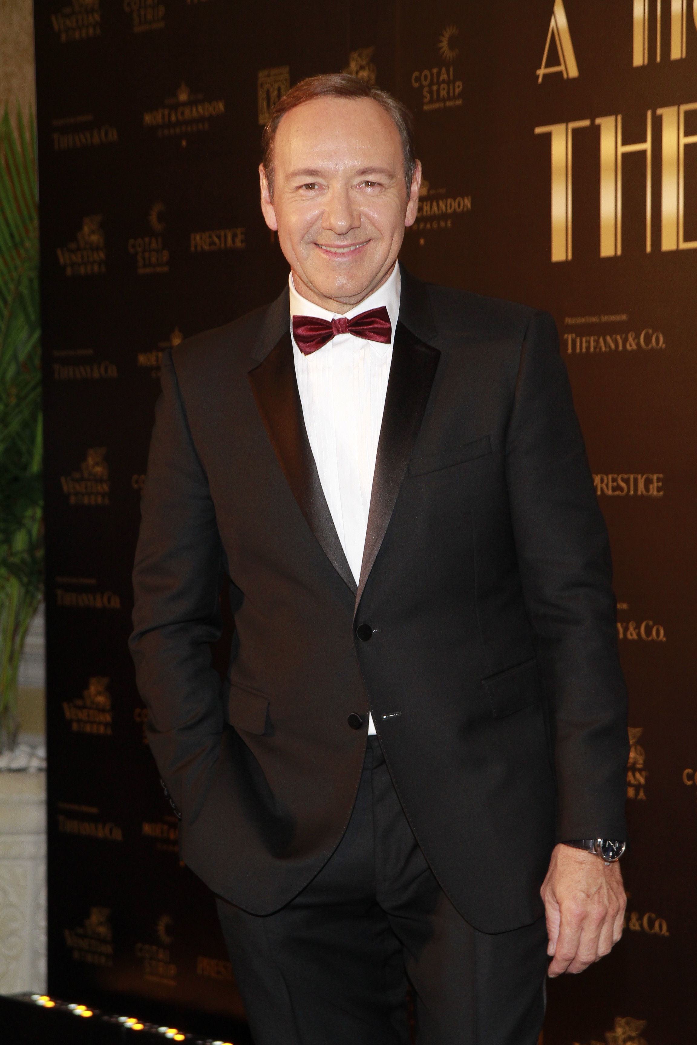 Actor Kevin Spacey attends the Venetian Ball 2014 to celebrate the launch of Best Buddies Macao Association on March 15, 2014 in Macau.