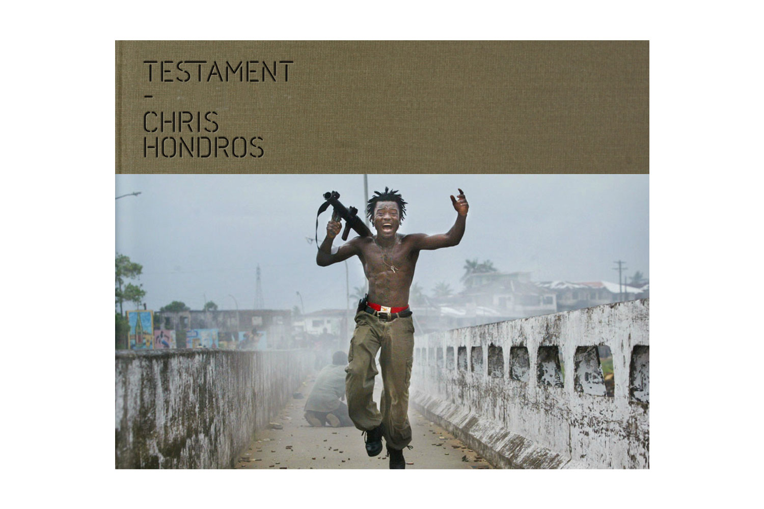Chris Hondros' Testament, published by PowerHouse books                               A fearless photojournalist who covered conflict across the globe, Hondros made images that he believed could change the world, a claim that's hard to argue when faced with  his intense and piercing images.