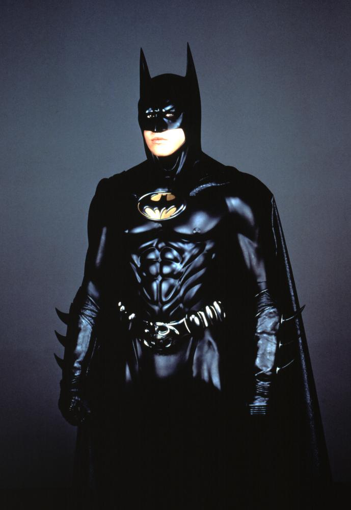 Following Keaton three years later, Val Kilmer portrayed the billionaire playboy in 1995's <i>Batman Forever</i>.